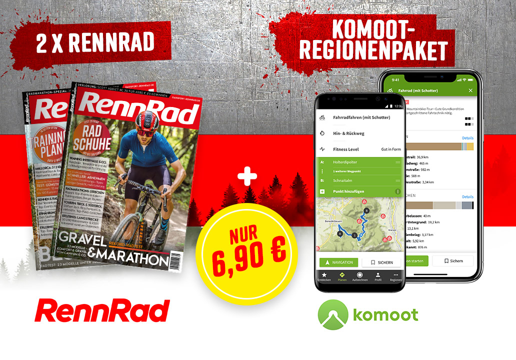 RennRad RideLocal Spezial Angebot