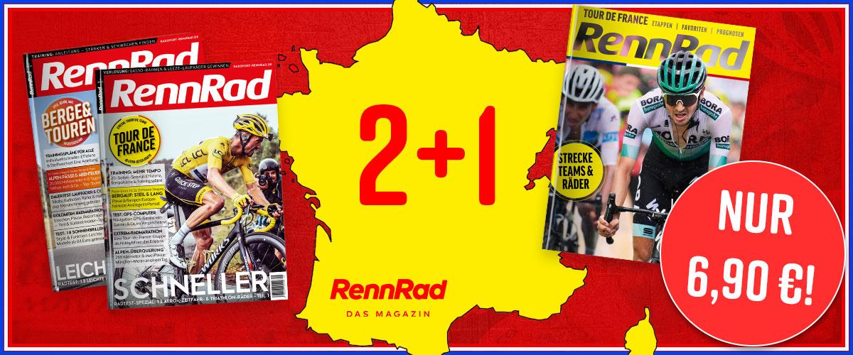 RennRad, Abo, Tour de France 2020, Aktion